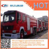 Camion Emergency di lotta antincendio del Wrecker della gru di salvataggio di HOWO 4X2