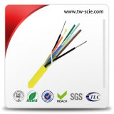 Fibres multiples OS2 monomode Breakout Patch Cable avec Yellow Jacket