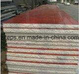 El panel de emparedado de acero del color EPS para la pared y la azotea
