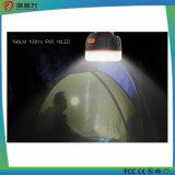 Batería impermeable magnética de la potencia 5200mAh con la linterna que acampa