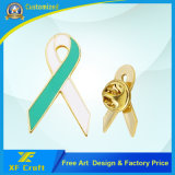 El esmalte modificado para requisitos particulares barato ayuda a la divisa del Pin de la solapa/suavemente del Pin del esmalte para el recuerdo/la promoción