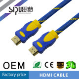 Cable de alta velocidad del nilón HDMI del soporte 1080P 3D de la venta al por mayor de Sipu
