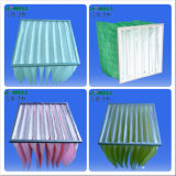 F5 ~ F9 Synthetic Material Bag Filter com Matel Frame