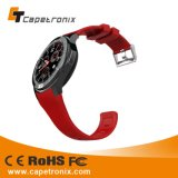 Première montre-bracelet 2016 de vente avec la montre intelligente de WiFi de carte SIM de support téléphonique de montre de Pedometer