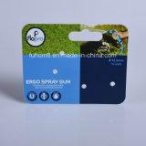 Carte d'en-tête en plastique s'arrêtante estampée personnalisée de PP/PVC pour l'empaquetage