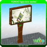 Cartelera al aire libre publicitaria automática del cartel que hace publicidad de la visualización de la iluminación