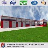 ISO/En1090標準鉄骨構造の倉庫か研修会または小屋