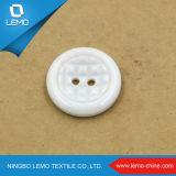 Fabriqué en Chine avec le bouton de chemise tissé décoratif de platine