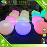 최신 판매 옥외 LED 가구, 백색 소파에 의하여 점화되는 LED 가구