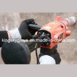 перчатка работы нитрила сопротивления отрезока вкладыша 13G Hppe окунутая двойником (5049)