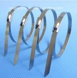 de Omslag van de Band van het Slot van de Banden van de Kabel van het Pit van het Roestvrij staal van 4.6mmx550mm