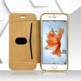 Cassa di cuoio Twinkling operata del telefono delle cellule di Filo TPU per il iPhone