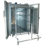 Forno industriale della polvere per il trattamento delle rotelle