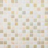 Het beige Mozaïek van het Glas voor Keuken en Douche