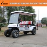 Veículo elétrico nos EUA, carro da caça de 4+2 Seater do golfe de 6 Seater para a venda