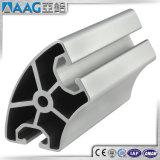 Perfil de alumínio da extrusão do entalhe de T para a linha de produção industrial