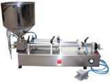 분말 충전물을%s 충전물 기계 압축 공기를 넣은 스테인리스 Semi-Aut