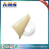 etiqueta autoadhesiva CD pasiva antirrobo de la frecuencia ultraelevada RFID DVD de 40*16m m