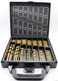 Herramientas de perforación de hardware Metal Drilling Set 99PCS Titanium (Ti)
