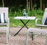 신식 Personal 3개 고도 Adjustable Table 야영지 백색 정원