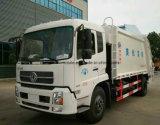 6つの車輪の高品質トラック12トンの屑のコンパクターのトラック12のCBMのガーベージの輸送の