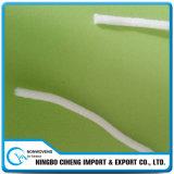 3 cabo elástico redondo branco fino de Earloop 2.5mm da dobra para máscaraes protetoras