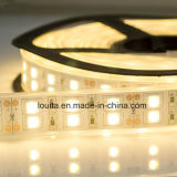 Doble Fila 5050 Tubo de silicona tira flexible del LED
