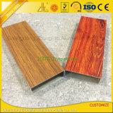 Câmara de ar oca lisa de alumínio da grão de madeira para a decoração das mobílias
