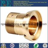 ODM-Präzision CNC-maschinell bearbeitende Messinggewinde-Buchse