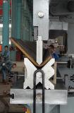 Máquina de dobra enorme hidráulica do freio da imprensa do metal de folha