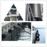 Tipo cilíndrico marina defensa de goma cilíndrica de la defensa