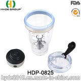 2016 BPA libèrent la bouteille électrique de dispositif trembleur de protéine en plastique, la bouteille d'eau électrique en plastique personnalisée de dispositif trembleur de protéine (HDP-0825)