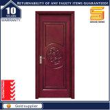 Puerta de madera del ingeniero interior del roble rojo con la pintura de la PU de la alta calidad