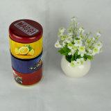 Metallzinn, Tee-Zinn, rundes Tee-Zinn mit verschiedenen Aromen