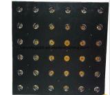 Het Amber LEIDENE van het stadium DMX 36X3w6X6 LEIDENE Licht van de Matrijs
