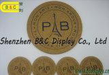 MDF, Fiberboard de média densidade, MDF / Fb, Coaster de cortiça (B & C-G065)