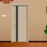 Puerta de madera interior de la melamina barata del dormitorio (GSP13-006)