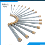 Guy Wires, Stay Wires, Ground Wire, Messenger Wire, Steel Core pour ACSR Application et Galvanized Type Guy Wire
