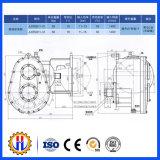 Reductiemiddel van de Versnellingsbak van de Worm van het Hijstoestel van de bouw het Mini