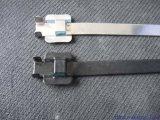 Cinta plástica Releasable revestida plástica do aço inoxidável