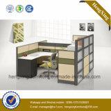 مصنع مكتب طاولة [ل] شك مركز عمل حديثة ([هإكس-نبت023])