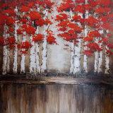 Peinture à l'huile de base en aluminium de reproduction pour les arbres (ZH3720A)
