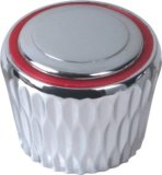 Punho de Faucet no plástico do ABS com revestimento do cromo (JY-3006)