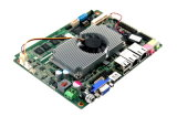 Carte mère industrielle, RAM intégrée 2GB DDR3, 1 * DDR3 800/1066 SODIMM (optionnel) Slot, support max. 6 Go de RAM