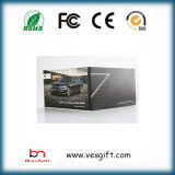 7.0 '' LCD-Videokarten/videobroschüre für das Hochzeits-Geschenk, das Spieler bekanntmacht