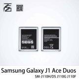 as neuf néo- J111f des duos J1 d'as de la galaxie J1 de la batterie 100% Eb-Bj111abe Samsung du téléphone mobile 1800mAh