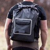 33L extérieurs imperméabilisent le sac de sports de joint supérieur de roulis avec la poche d'ordinateur portatif