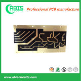 Placa de circuitos vermelha da máscara da solda PWB 2.0mm de 2 camadas (VOLTA 24H-48H RÁPIDA)