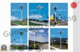 O projeto novo agrupou a lâmpada para a iluminação de rua