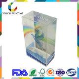 Fornecimento profissional Caixa de presente impressa em PVC para embalagens de felpa Embalagem
